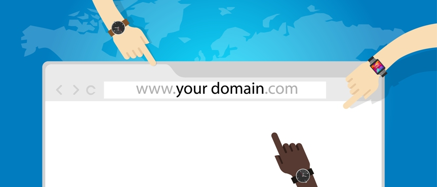 Your domain name – helping people find you online