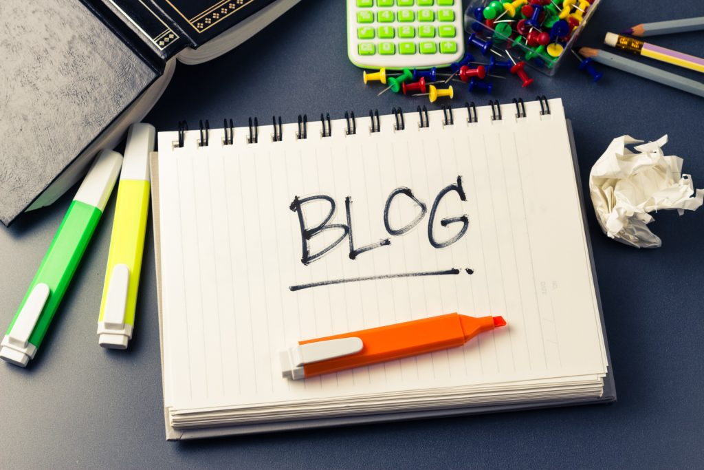 On the importance of blog writing – 4 reasons your website should have a blog and 4 ways to do it right
